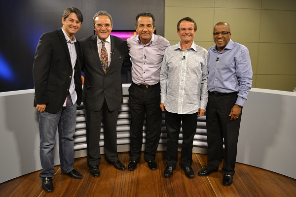 Marcus Gregório, Abner Ferreira, Gidalti Alencar e Silas Malafaia Filho