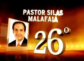 Pr. Silas é um dos maiores brasileiros 'de todos os tempos'