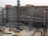 Obras do Templo de Salomão da Igreja Universal são realizadas 24 horas por dia e estão com 30% concluídos