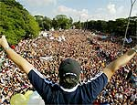 Datafolha diz que Marcha para Jesus reuniu 335 mil em SP