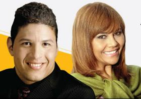 Parceria: Angelo e Raquel Mello vão fazer um pocket show no Rio de Janeiro