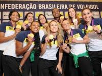 """Música evangélica """"Ressuscita-me""""  de Aline Barros incentivou reação até o ouro do vôlei feminino"""