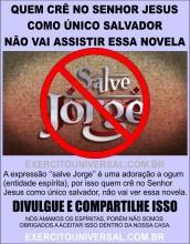 """Evangélicos fazem campanha de boicote a novela """"Salve Jorge"""""""