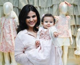 Aline Barros prepara festão para sua filha Maria Catherine