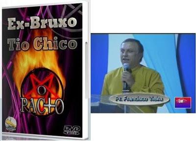 Ofuxico Shopping - Testemunho Ex-bruxo Tio Chico. R$ 14,99 Imperdivél