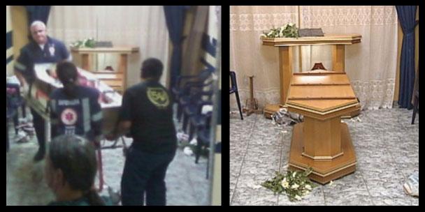 Após oração a Deus morta aperta mão de amiga e velório é interrompido
