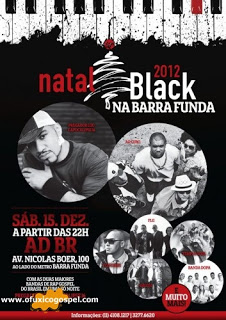 Ao Cubo e Pregador Luo são presenças confirmadas no Natal Black 2012