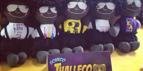 """Thalleco"" Conheça a linha de bonecos lançada por Thalles Roberto"