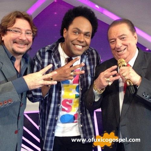 Thalles Roberto grava participação no Programa Raul Gil