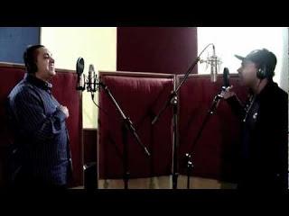 Waguinho grava clipe com Thalles Roberto