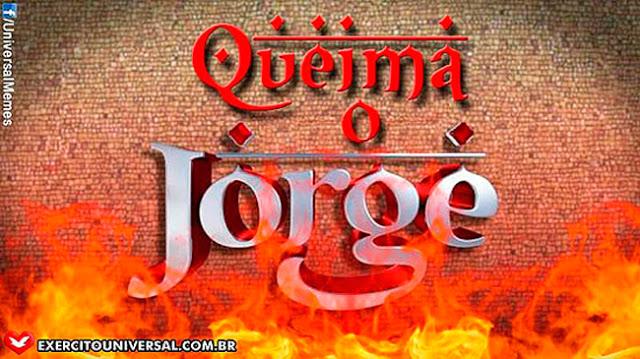 Site ligado a IURD, Boicota Salve Jorge.
