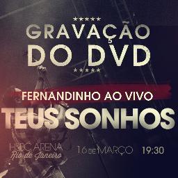 Ingressos para gravação do DVD de Fernandinho, são vendidos por até R$100,00