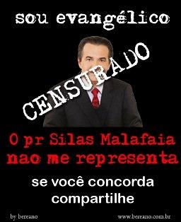 Grupo circula abaixo-assinado contra Silas Malafaia: 'Sou evangélico e Pr. Silas Malafaia não me representa'
