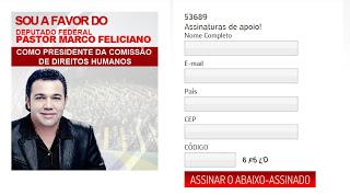 Conheça as verdadeiras intenções do Pastor Marco Feliciano na presidencia da CDHM