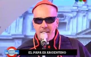 Paródia argentina sobre o papa debocha dos brasileiros