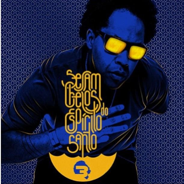 Thalles divulga capa do seu novo CD - Sejam cheios do Espírito Santo