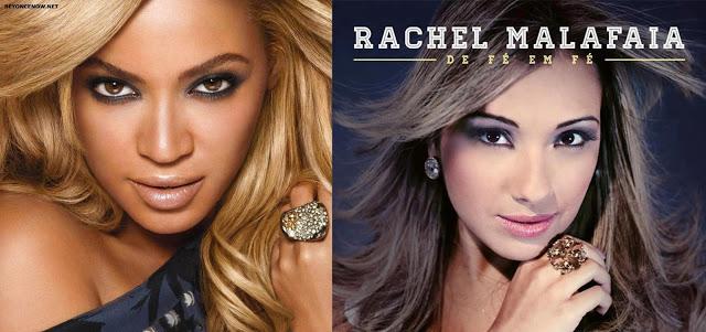 Rachel Malafaia é acusada de plágear Beyonce