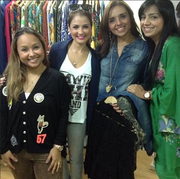 Fernanda Brum, Eyshila, Bruna Karla e outras cantoras Gospel inauguram loja de Liz Lanne