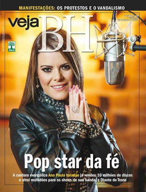 """Revista Veja elege Ana Paula Valadão a """"POP STAR DA FÉ"""""""