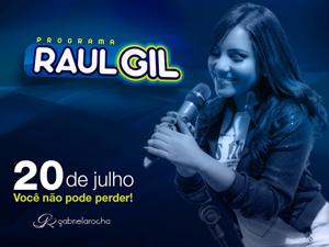 Gabriela Rocha estará no programa Raul Gil