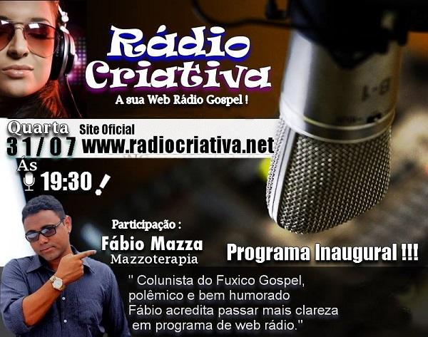 Colunista do O Fuxico Gospel estreia programa de rádio