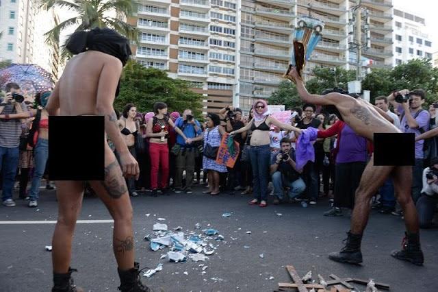 """Manifestante que quebrou """"Imagem de Santa"""" perde a memória em acidente"""