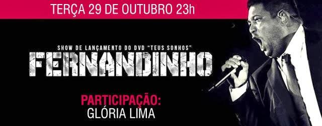 Lançamento do DVD de Fernandinho terá ingresso a R$600,00 Reais