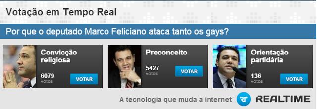 Por que o deputado Marco Feliciano ataca tanto os gays?
