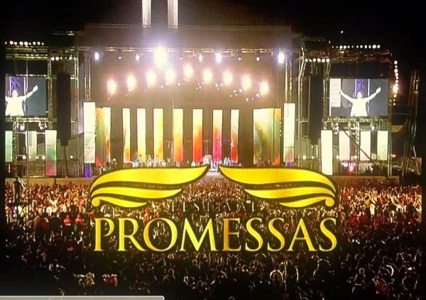 Som ruim e destaque a Aline Barros marcaram o Festival Promessas