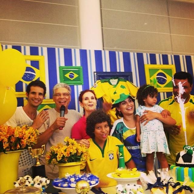 Aline Barros comemora aniversário de 11 anos do filho Nickolas