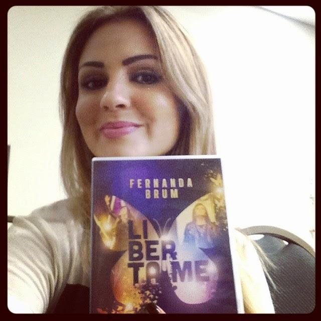 Pamela recomenda o novo DVD de Fernanda Brum