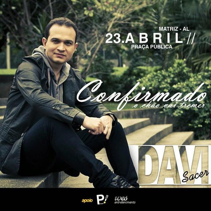 Prefeito de cidade Alagoana registra B.O contra Davi Sacer