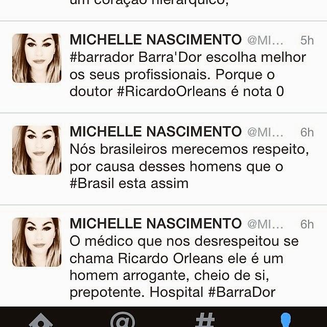 Cantora Michele Nascimento é constrangida em hospital de luxo no Rio