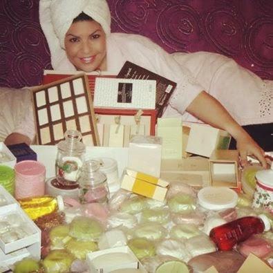 Vanilda Bordieri exibe coleção de sabonetes
