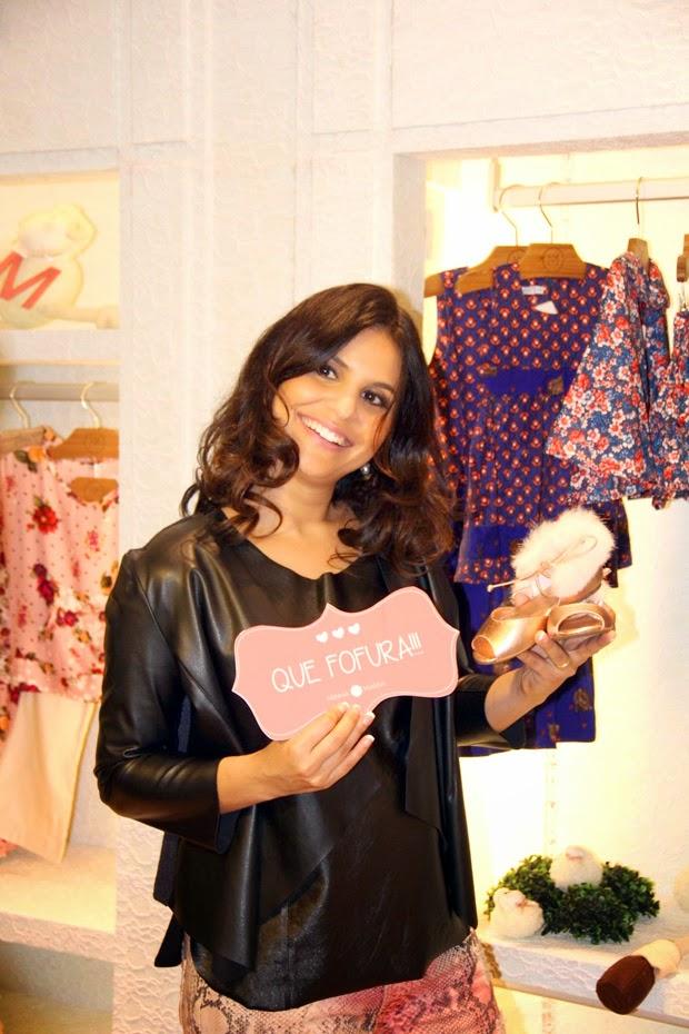 Aline Barros inaugura nova loja no RJ