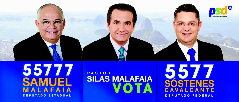 Pr. Silas Malafaia defende seus candidatos no RJ