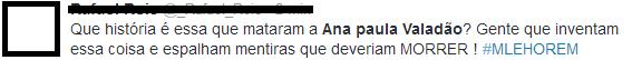 Boato diz que Ana Paula Valadão morreu de acidente de carro