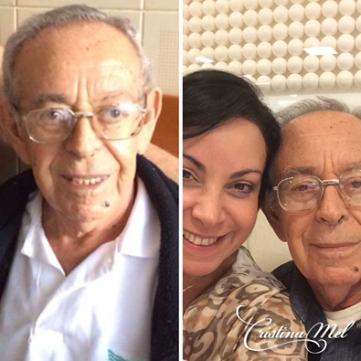 Pai da cantora Cristina Mel morre essa manhã
