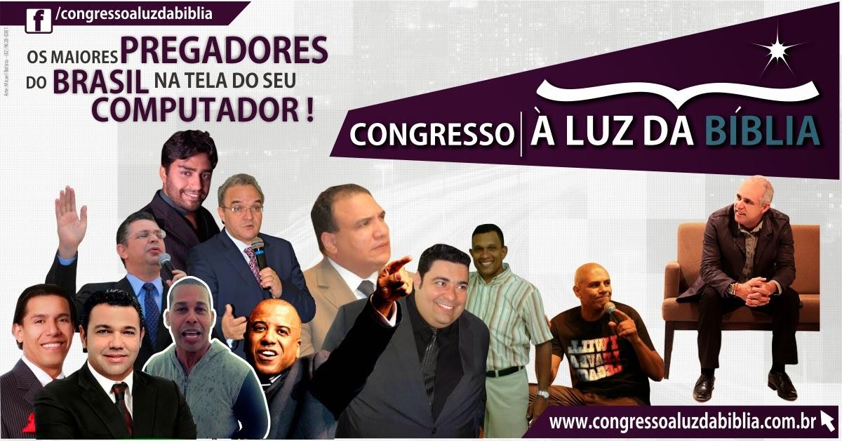 Primeiro Congresso Online com o pastor Claudio Duarte, já vai começar