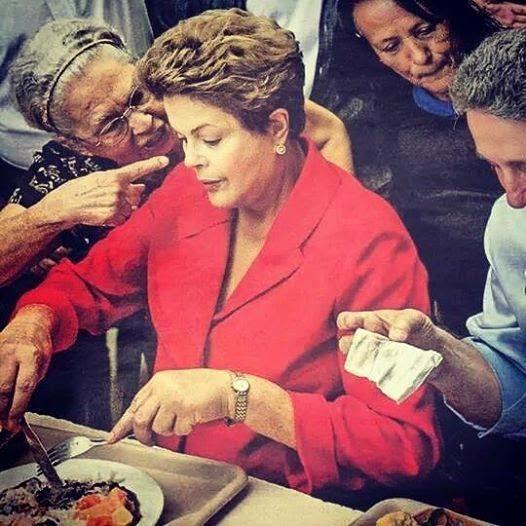 Mulher pode ter profetizado para Dilma, veja foto