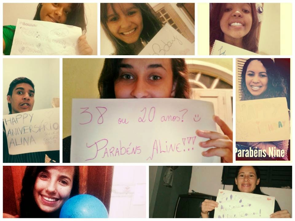 Aline Barros faz aniversário e recebe homenagem dos fãs