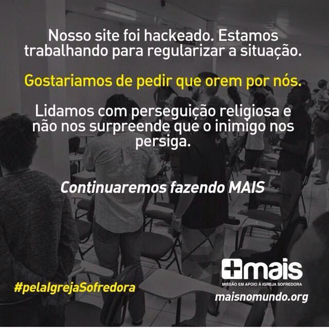 Site de Fernanda Brum é vitima de ataque, e ela pede dinheiro no Facebook