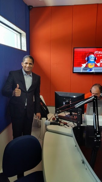 Pr. Erivan  Maia estreia programa na Rádio Maranata em Pernambuco