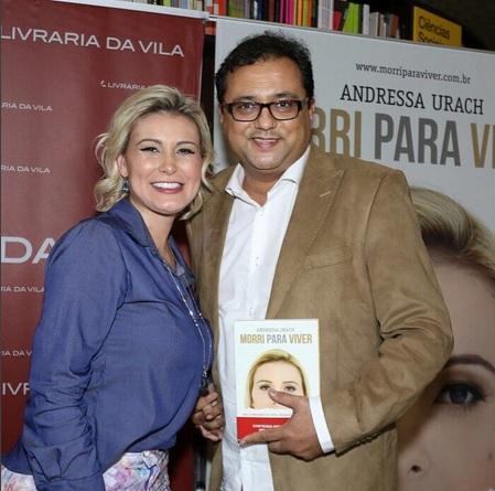 Famosos prestigiam lançamento do livro de Andressa Urach