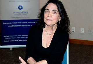 """Regina Duarte diz que sempre quis ser """"Menino"""""""