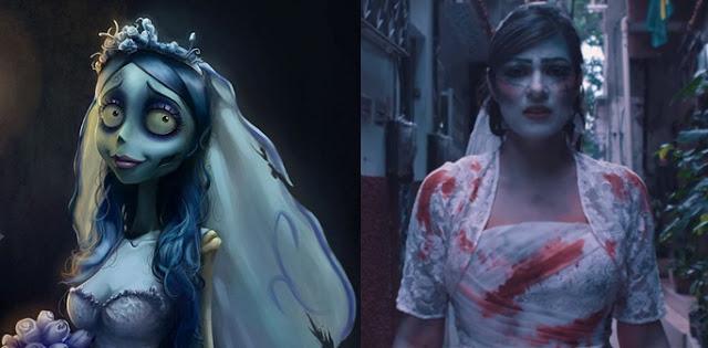 Fernanda Brum lança clipe e é comparada a noiva cadáver