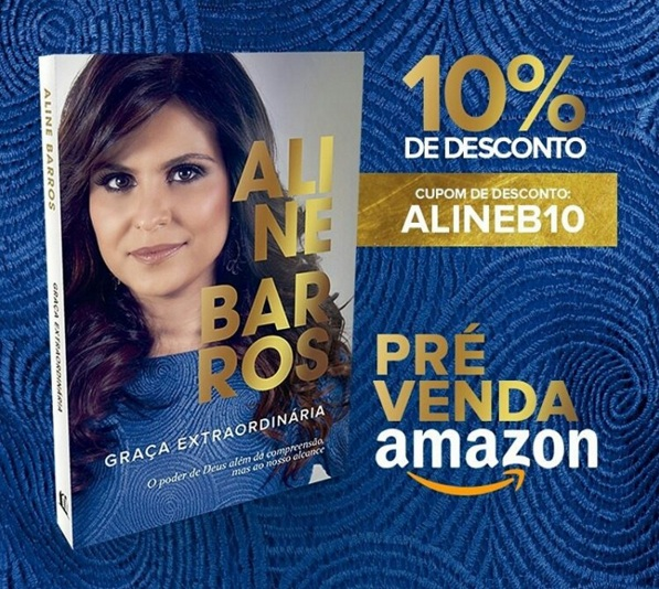 """Livro de Aline Barros diz """"desvendar"""" o poder de Deus"""