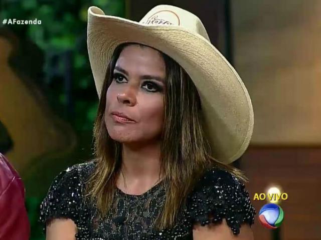 Mara Maravilha é eliminada de A Fazenda