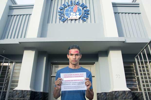 Estudante acusa presbítero da Assembleia de Deus de abuso sexual