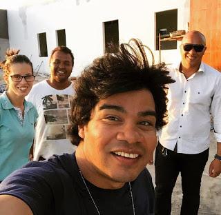 Samuel Mariano abandona reforma da casa para construir templo